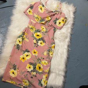 NWOT Floral Summer Dress